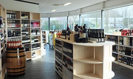 wijninrichting drankenhandel bouwhuis