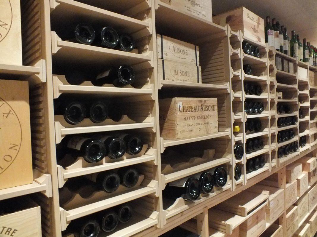 Wijnstellingen Vinorek Quickrack